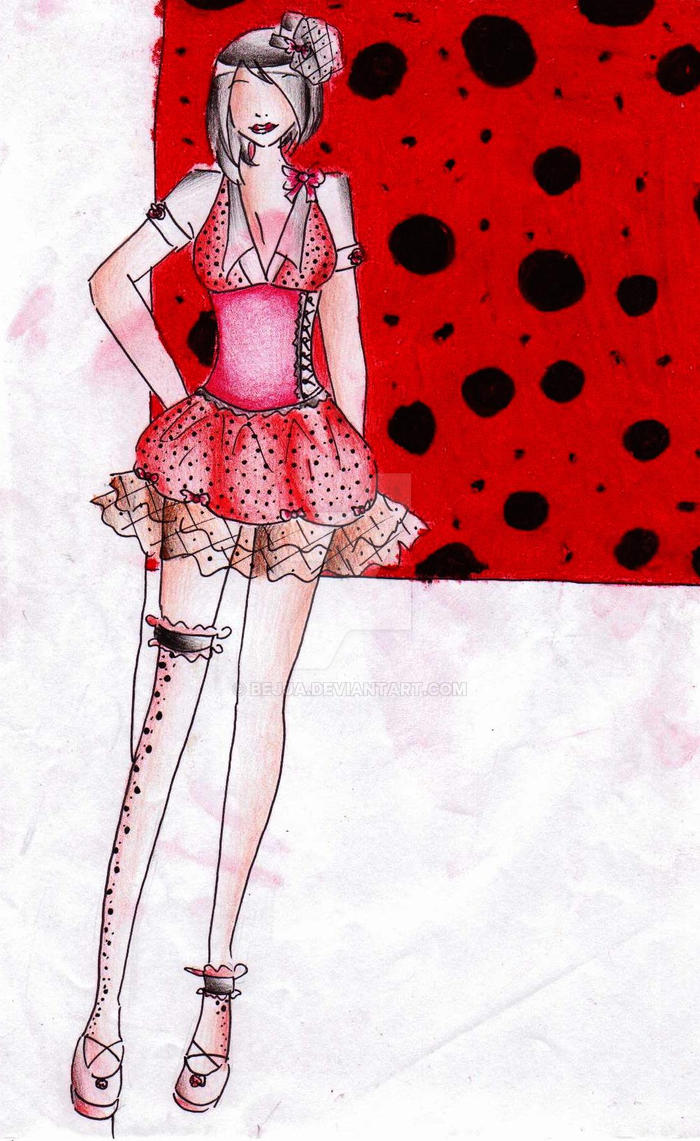 Polka dot girl -CLOSED- by bejja
