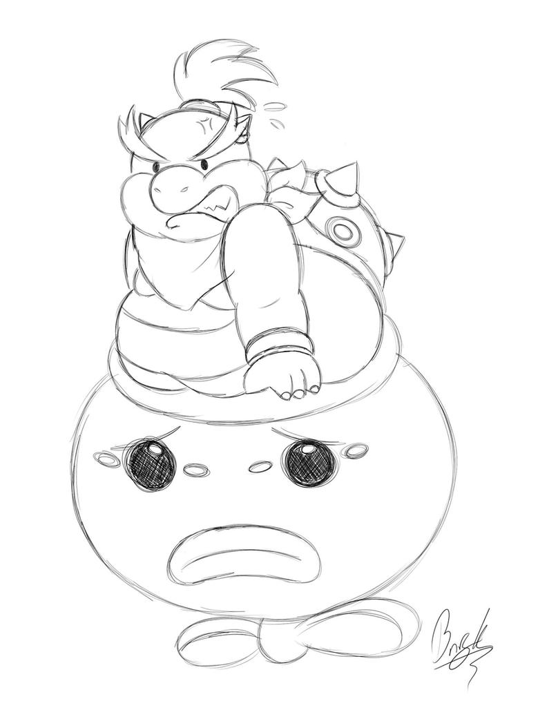 Nerfed Bowser Jr By BunearyK