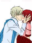 akagami no shirayukihime kiss