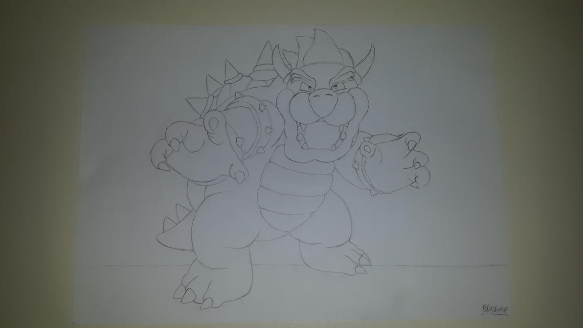 Bowser by CHARIZARD205