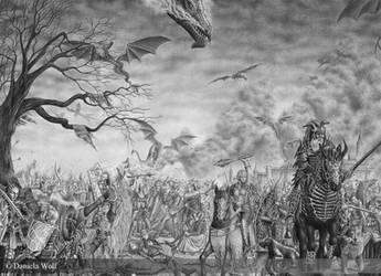 The battle by Svera