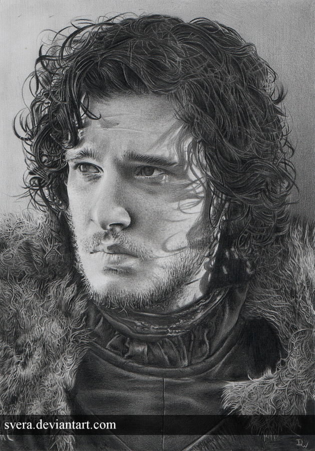 Jon Snow by Svera