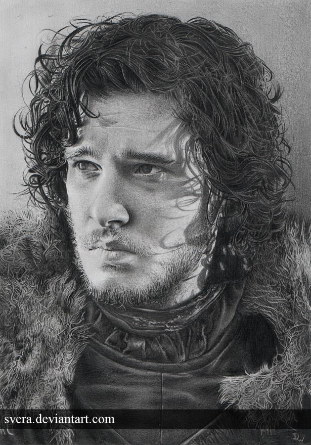 Jon Snow by Svera