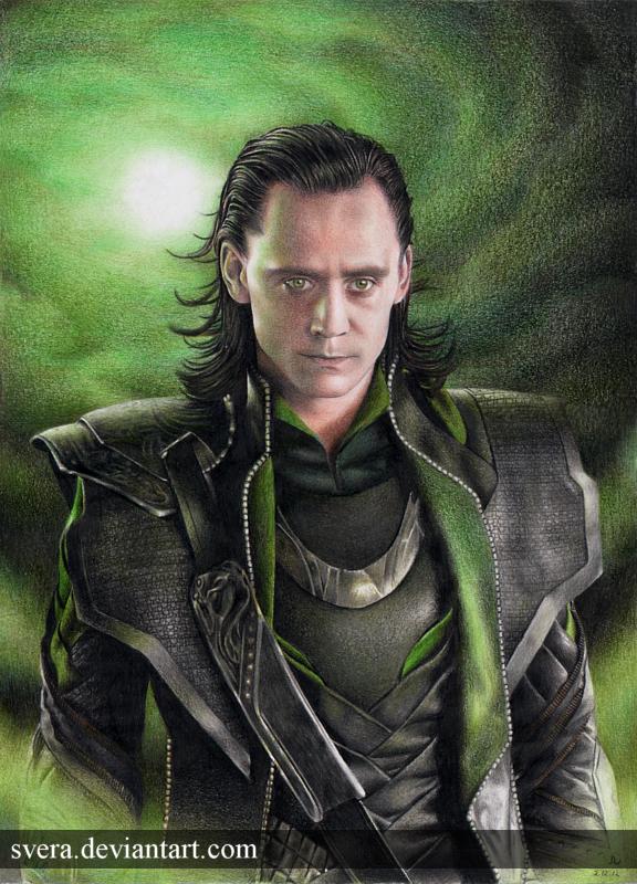 Loki by Svera
