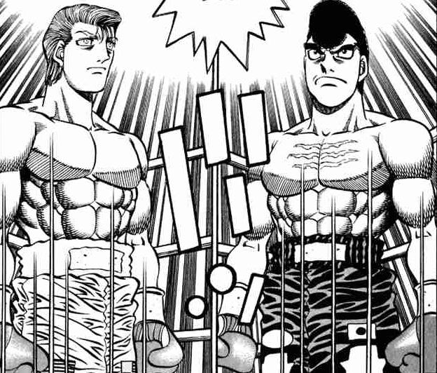 Hajime No Ippo Bryan Hawk: Hajime No Ippo Takamura Vs Eagle Episode