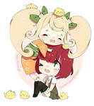 Hiyoko and Mahiru