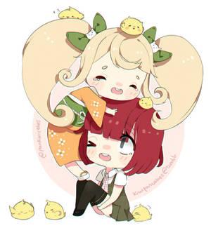 Hiyoko and Mahiru