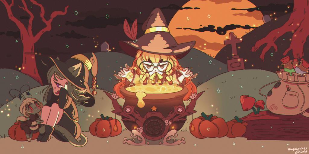 Halloween! by pankiwicakes