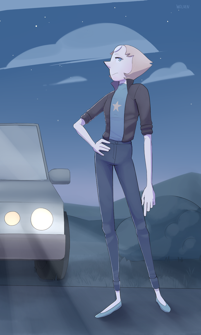 Pearl looking fresh af. Feat. background attempt. Props to those Steven Universe artists/animators, man. Given the opportunity to look at their art a little more in detail, I really respect how the...