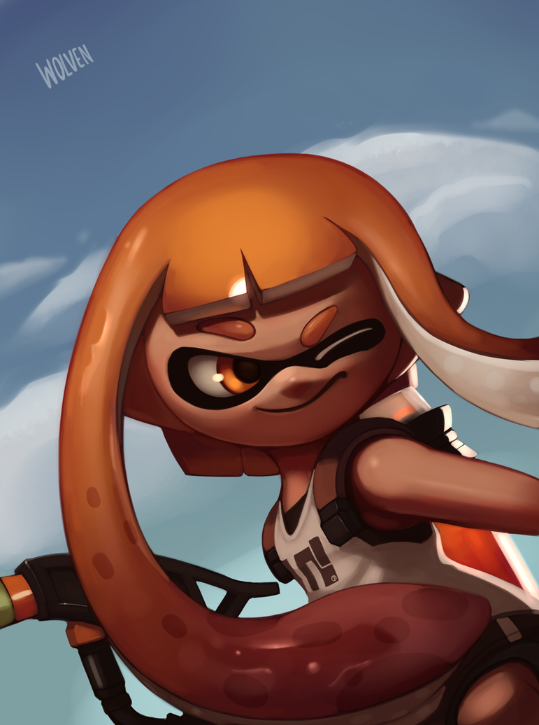 Squids With Guns by ItsWolven