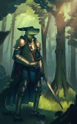 Verdant Knight by ItsWolven