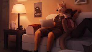 Movie Night [Commission]