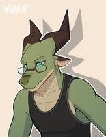 Tank by ItsWolven