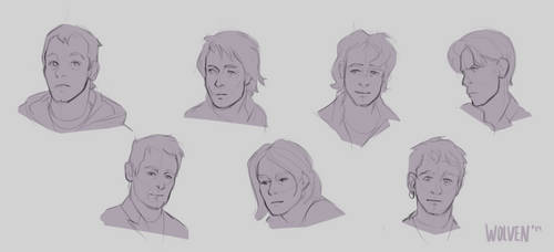 Faces by ItsWolven