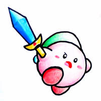 Sword Kirby by yuchans