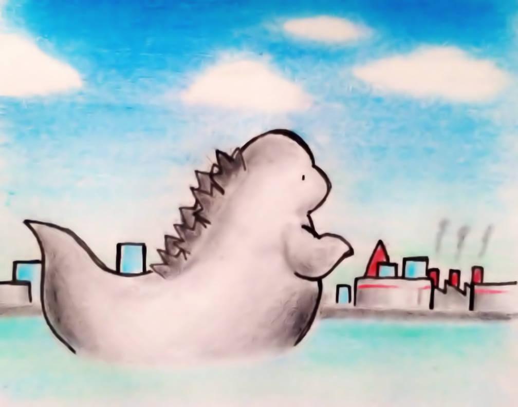 Godzilla by yuchans