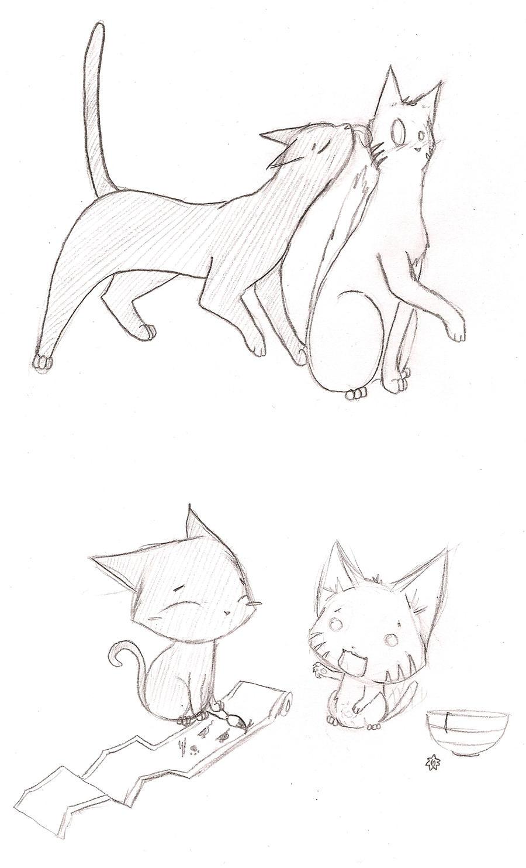 Narusai NaruSai: Cats by nohap...