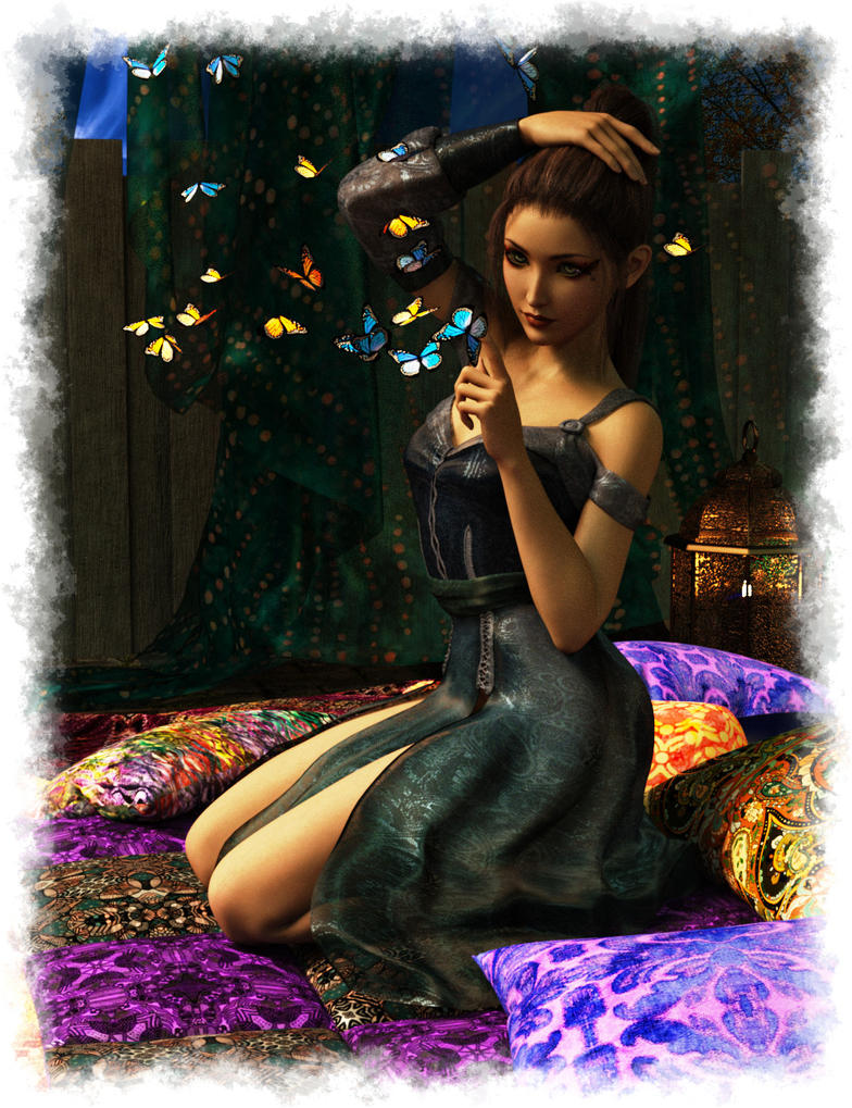 Aiko's Butterflies by Knittingmommy
