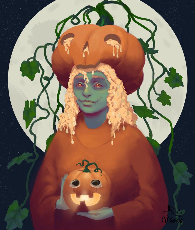Pumpkingirl by Monomus