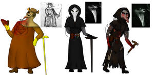 SCP-049 variations
