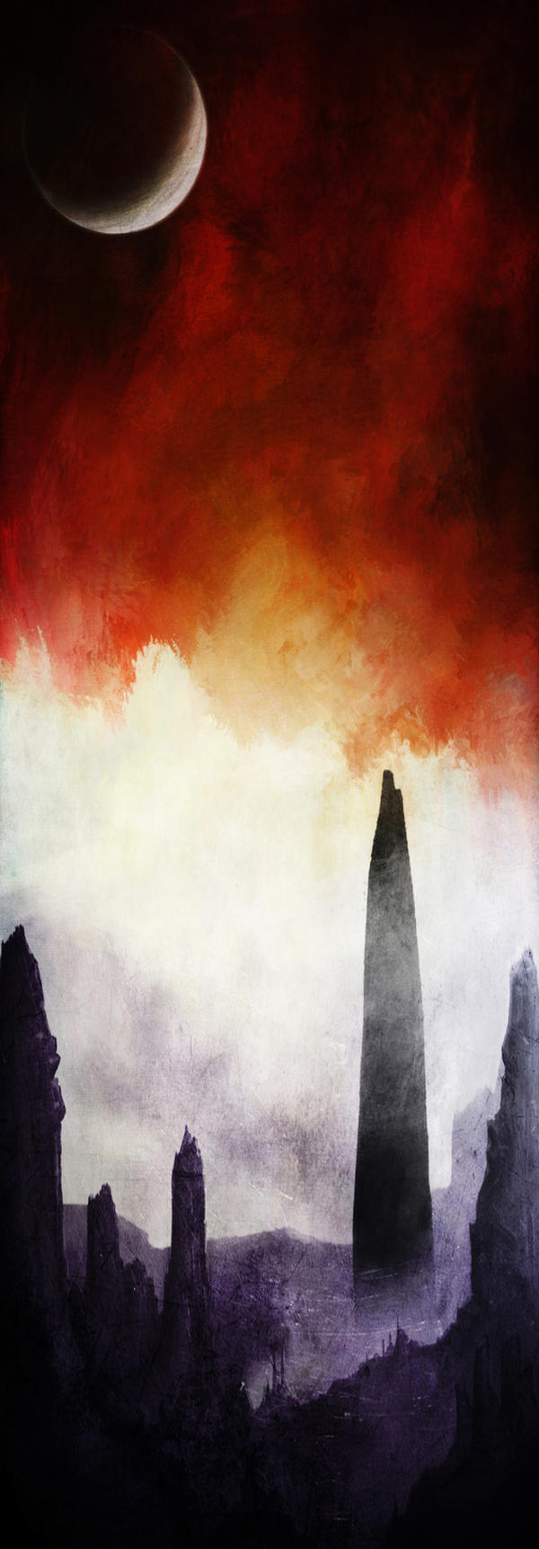 The Sky Ablaze by TALONABRAXAS