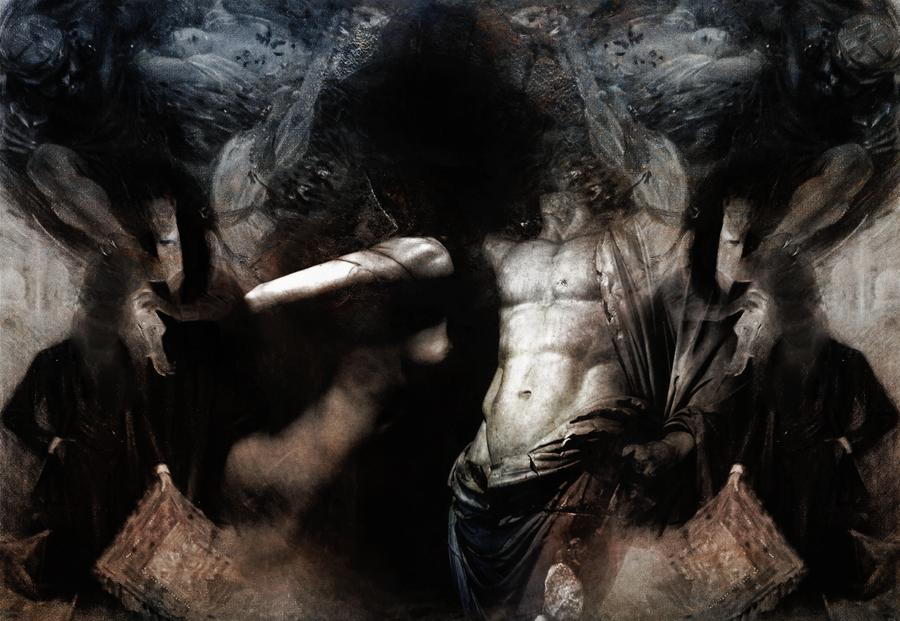The Quarrel of Oberon and Titania by TALONABRAXAS