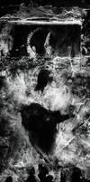 Silhouette of the Wayward Dreamer by TALONABRAXAS