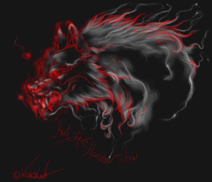 Malicious spirit by Okami-Kodokuna