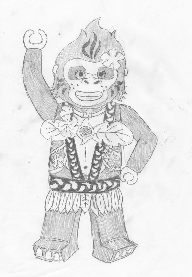 Lovely Lego Chima Gorilla Coloring Pages Images - Entry Level Resume ...