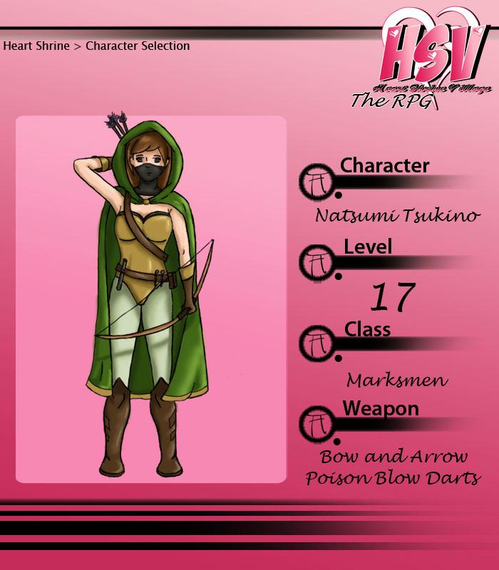 Natsumi Tsukino RPG by kromogami18