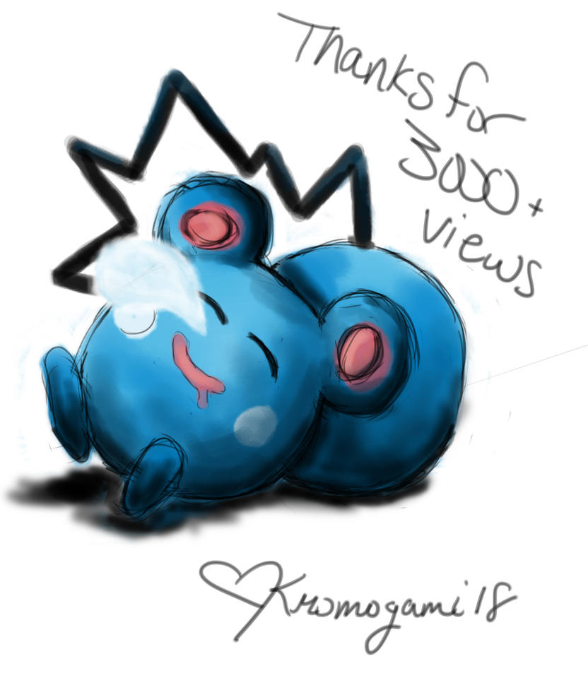 Thanks For 3000+ views! by kromogami18