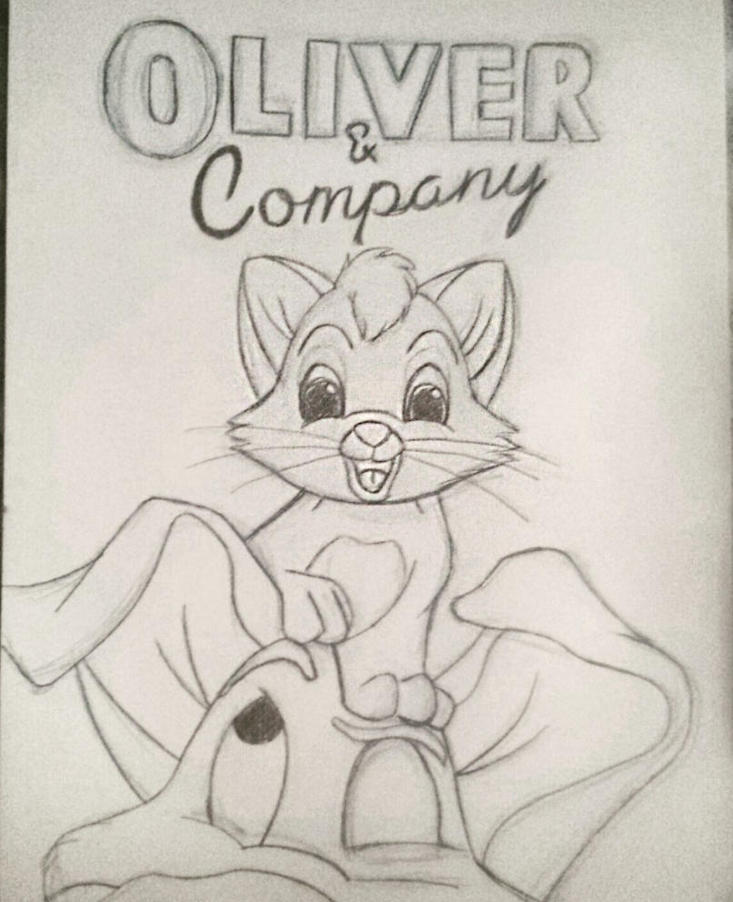 Day 1: Oliver and Company by kromogami18