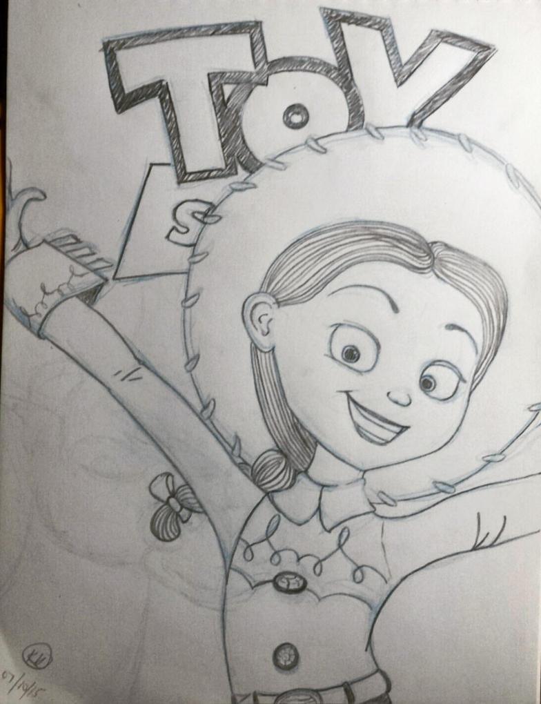 Day 2 Toy Story by kromogami18