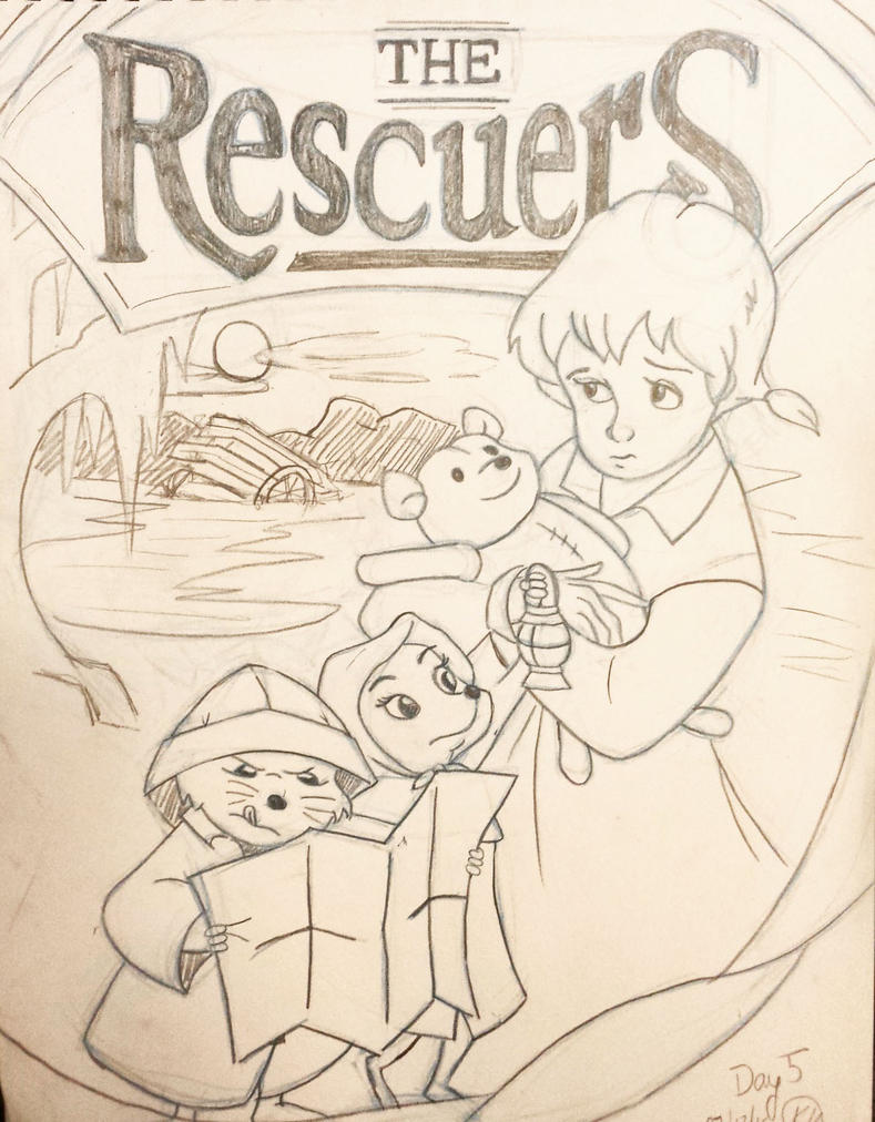 Day 5 The Rescuers by kromogami18