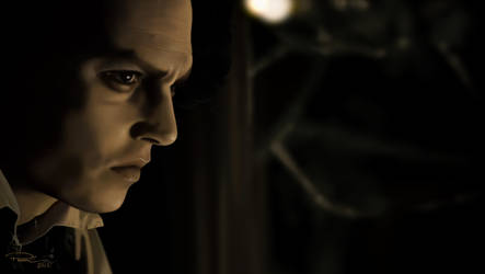 Johnny Depp is Sweeney Todd #2 by Paranosc