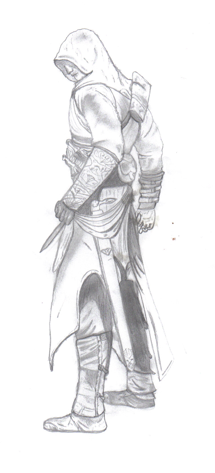 Assassins Creed Drawing By Evillassassin On Deviantart