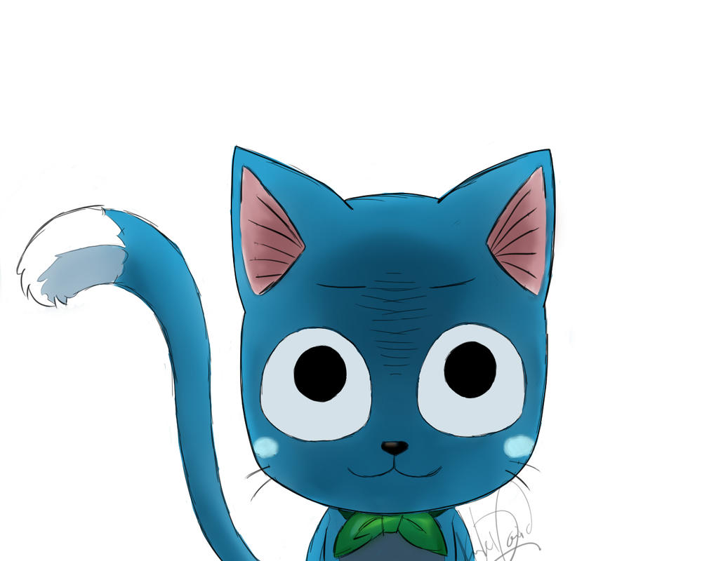 Fairy Tail Happy #1 by justkyledavid on DeviantArt  Fairy Tail Happ...