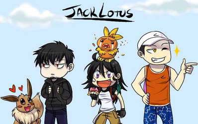 PKMN Trainers by JackLotus