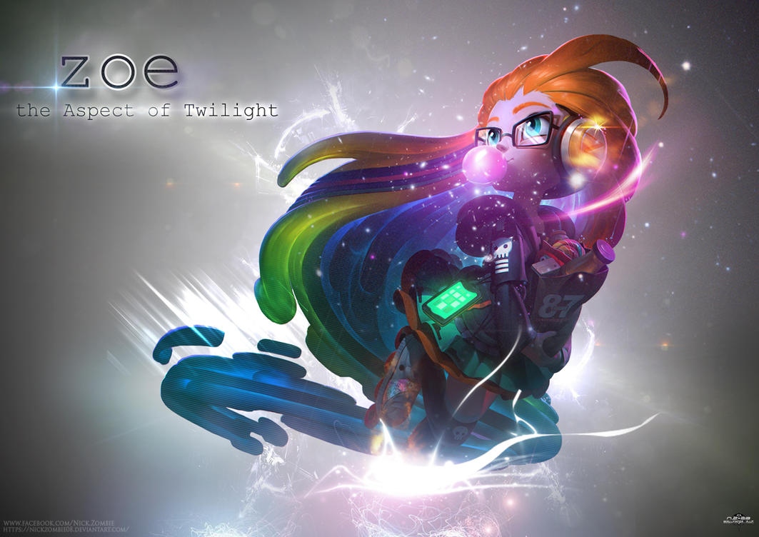 Cyberpop zoe wallpaper league of legends by nickzombie08 - Zoe wallpaper ...
