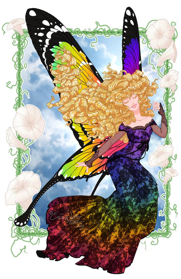Rainbow Faerie by ToastyToastie