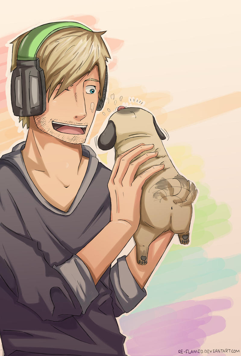 pewdiepie n maya by re-flamed on DeviantArt
