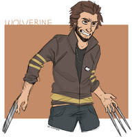 WOLVERINE by re-flamed