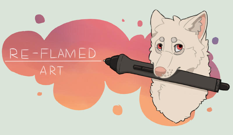 header by re-flamed
