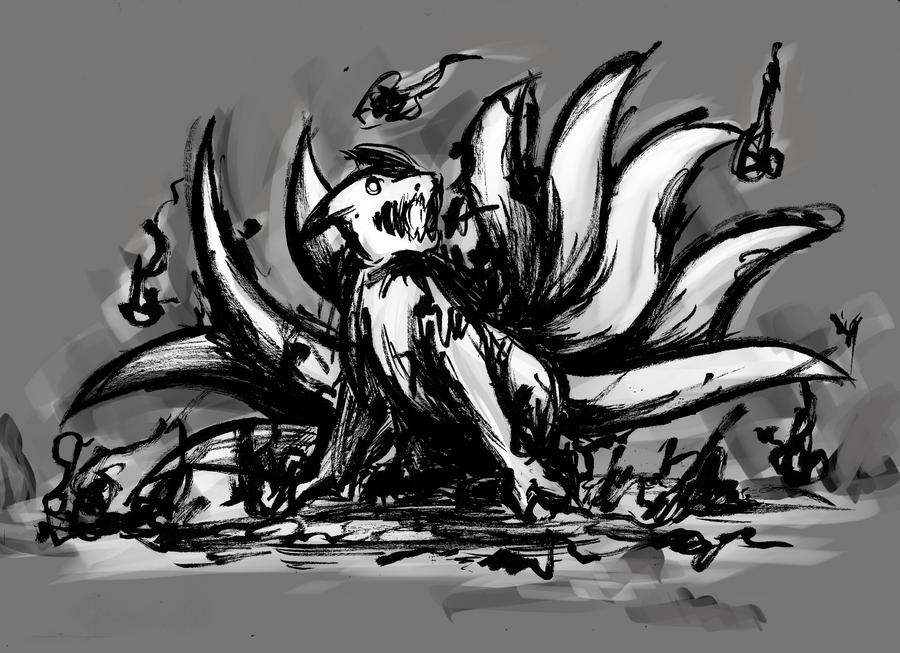 dark kitsune by ryuu-ketsueki on deviantART