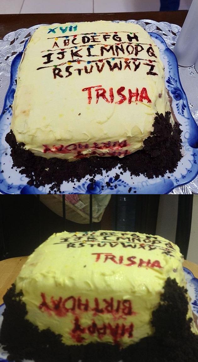 Stranger Things Themed Birthday Cake By Pack69alpha On Deviantart