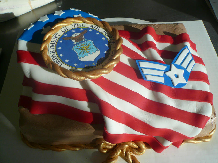 Air force cake by keki girl on deviantart for Air force cakes decoration
