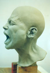 'Scream' side view