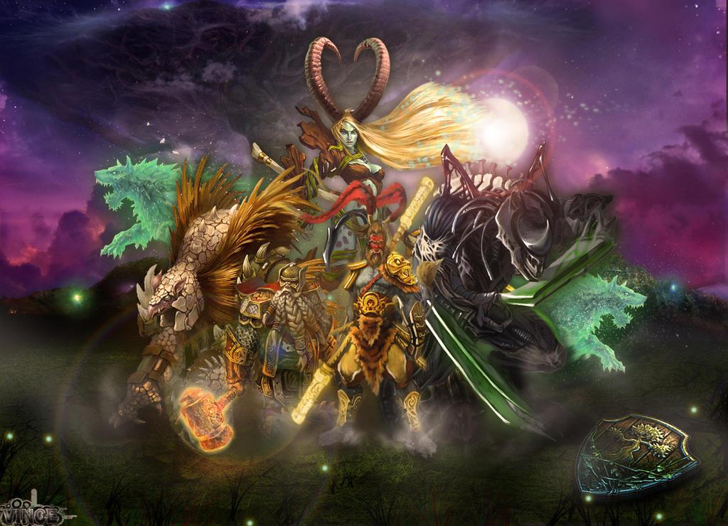 Heroes of Newerth Milk Heroes of Newerth Legion by