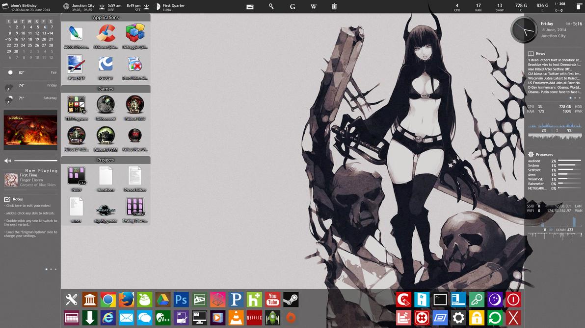 14-6-6 Devious Desktop by phoenixdaisy