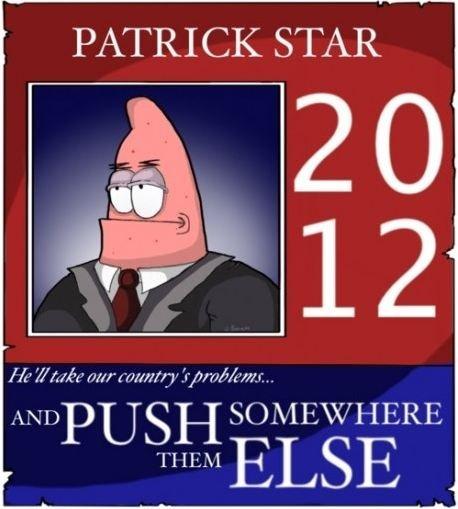 Patrick Star- 2012 by Zuerel
